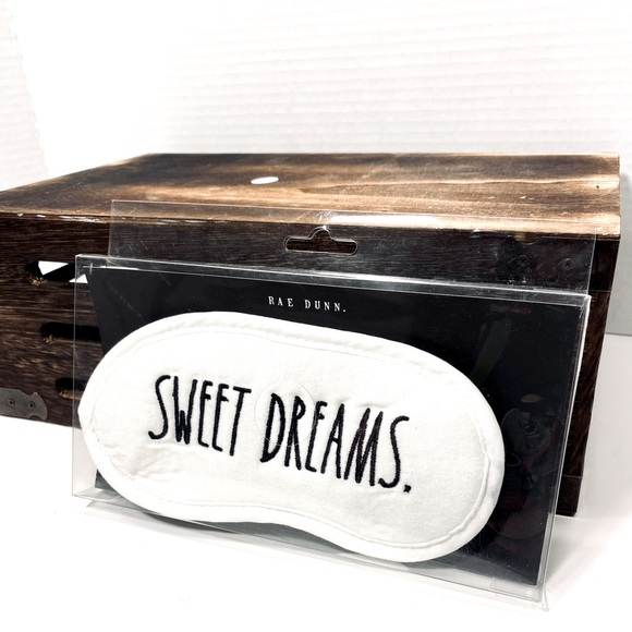 Rae Dunn SWEET DREAMS. sleeping mask NWT
